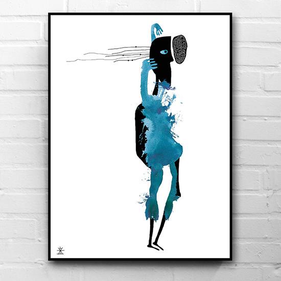 Ufo-dancing-ufoprint-art-prints-helen-kholin