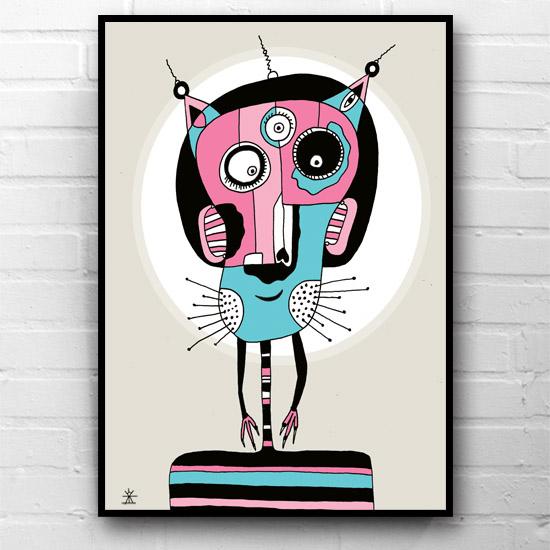8-CosmoCat-ufo-love-kunsttryk-print-med-kunst-ufoprint-art-prints-boligkunst-helen-kholin