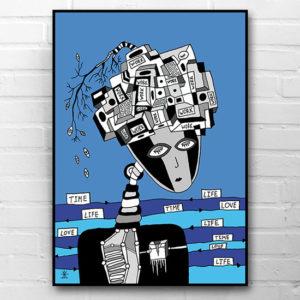 9-time-No-time-no-life-no-love-kunsttryk-print-med-kunst-ufoprint-art-prints-helen-kholin.jpg