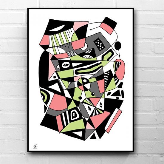 ufologi-unikke-kunstprint-og-plakater-crop-circles-helen-kholin